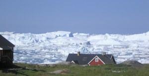 Isbjergene skiftes hurtigt ud.